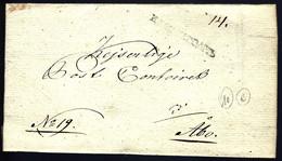 KACTEAГOAMOИ - ...-1857 Prefilatelia