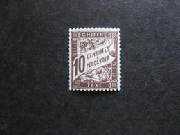 A). TB Taxe N° 29, Neuf XX . - 1859-1955 Mint/hinged