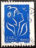 TIMBRES   DE    FRANCE   N° 3807       OBLITÉRÉS  ( LOT: 8321) - 2004-08 Marianne Van Lamouche