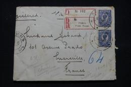 RUSSIE / CHINE - Enveloppe Cachetée ( Voir Sceau)  En Recommandé De Pékin Pour La France En 1915 - L 98383 - Cina
