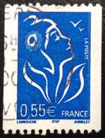 TIMBRES   DE    FRANCE   N° 3807       OBLITÉRÉS  ( LOT: 8323) - 2004-08 Marianne Van Lamouche