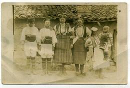 ( CARTE PHOTO )( GRECE )( FEMMES MACEDONIENNES ) 1917 ( KLESTINA LE HAUT ) - Orte