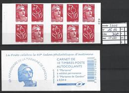 ANNEE 2006 SPLENDIDE LOT DE LUXE CARNET NON PLIER N° 1514 NEUF (**) CÔTE 34.00€ Y&T A SAISIR!!!!!! - Commemoratives