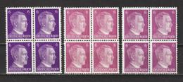 Adolf Hitler  MiNr. 785 A,b+c ** (0466) - Unused Stamps