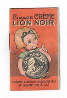 Calendrier Cirage Lion Noir Et Mirror 1928, Illustratrice Beatrice Mallet - Tamaño Pequeño : 1921-40
