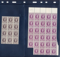 196/197 In Veldelen Postgaaf ** MNH PRACHTIG - 1922-1927 Houyoux