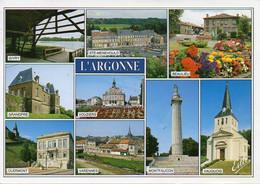 51 L'ARGONNE - Givry, Ste-Menehould, Beaulieu, Vauquois, Montfaucon, Varennes, Grandpré, Multivues - Ohne Zuordnung