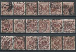 ZZ-/-165-. BON LOT,   VOIR OBL. & NUANCES,  VOIR IMAGE POUR DETAILS,  IMAGE DU VERSO SUR DEMANDE, - Used Stamps