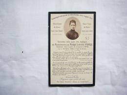 Faire-part Décès Avec Photo Marie-Louise Fabre En 1888 à Cette - Avvisi Di Necrologio