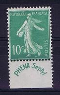 France:  Yv 188  PHENA  MNH/** Sans Charniere. Postfrisch - Werbung