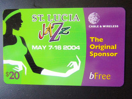 ST LUCIE   JAZZ   2004  BFREE - Saint Lucia