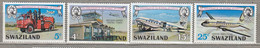 SWAZILAND 1975 Transport Airplanes MNH(**) Mi 224-227 #27961 - Aerei