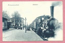 Allemagne - SCHWARZENBEK - Bahnhof - Gare - Loco - Locomotive à Vapeur - Schwarzenbeck