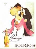 """PUB PARFUM  """" RAMAGE  """" De  """" BOURJOIS  """"   1964  ( 1 ) - Other"""