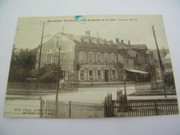 CPA - Molsheim (67) - Hôtel Restaurant De La Gare -Auguste Heim - Bière Brasserie Mutzig - 1925- SUP  (EZ 33) - Molsheim