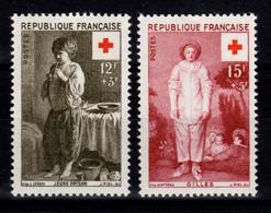 YV 1089 & 1090 N* Croix Rouge Cote 4 Euros - Ongebruikt