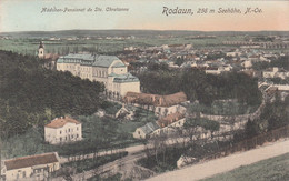 RODAUN (NÖ) - Mädchenpensionat De St. Chretienne, Karte Gel.1912?, Verlag P.Ledermann Wien, Sehr Gute Erhaltung - Otros