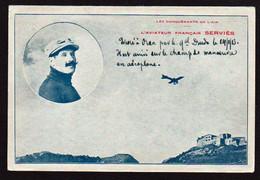 ORAN: Gros Plan Sur L'aviateur Ferdinand Serviès Né à St. Denis Du Sig Près D'Oran Le 21/12/1882.... - Oran