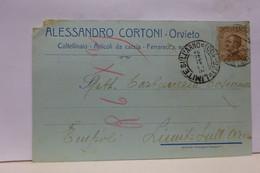 ORVIETO  -- TERNI   ---   ALESSANDRO CORTONI -- COLTELLINAIO -- ARTICOLI  DA CACCIA - Terni
