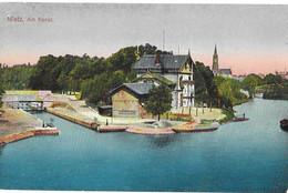 Germany WW1 Feldpost 1916 Metz Festungslazarett Military Hospital - Covers & Documents