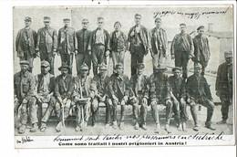 CPA-Carte Postale -Italie Come Sono Trattati Nostri Prigionieri In Austria 1918  VM31804 - Oorlog 1914-18