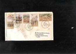 Australia Covers, Lettre. Letter, Brief  Dinosaurs - Prehistorics