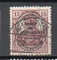 - ALLENSTEIN N° 18 Oblitéré - 15 P. Lilas-brun Germania 1920 Surchargé TRAITÉ DE VERSAILLES - Cote 42,00 € - - Abstimmungsgebiete