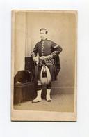 Photo Scotland Scottish Scot Scots Ecosse Ecossais Kilt CDV Porter Perth Perthshire Fashion - Oud (voor 1900)
