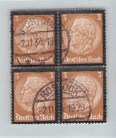 MiNr. 548 Viererblock Rostock - Used Stamps