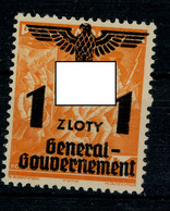 Generalgouvernement  Michel Nummer 27 Postfrisch - Besetzungen 1938-45