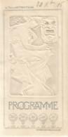 PS  / Old Théater Program MUCHA Cover L'illustration Comédie Francaise Programme Théâtre 1906  PIERSON LECONTE - Programs