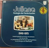 Juliana Koningin Der Nederlanden 1948-1973. - 78 G - Dischi Per Fonografi