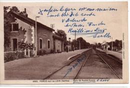 Poncé-sur-le-Loir- Gare De Ruillé-Poncé - Otros Municipios