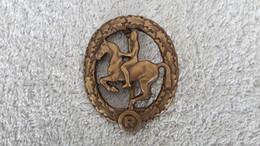 Reiterabzeichen Bronze Abzeichen Reiten Repro - 1939-45