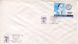 64264 Peru, Special Postmark Tacna, 1990, Arte Rupestre, Prehistory - Peru