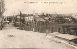 ONDES Vue Generale Prise Du Pont Suspendu - Andere Gemeenten