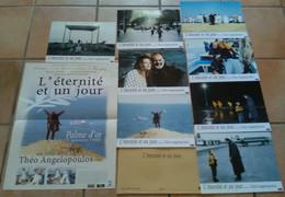AFFICHE CINEMA FILM L'ETERNITE ET UN JOUR + 8 PHOTOS ANGELOPOULOS PALME D'OR CANNES 1998 - Affiches & Posters