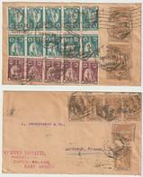 ENVELOPPE TIMBREE Du  MOCAMBIQUE - MOZAMBIQUE  1925- RECTO VERSO - Mozambique