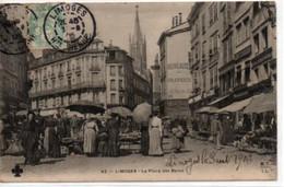 Limoges- La Place Des Bancs - Limoges