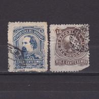 URUGUAY 1883, Sc#  50-51, Part Set, Used - Uruguay