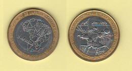 Tchad Ciad 4500 Francs CFA 2015 O 3 AFRICA AFRIKA Bimetallic Ants Insectes Fourmis Formiche - Chad