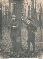 Photo (18 X 24 Cm) : Un Militaire D'un Bataillon De Chasseur Sous-officier Mitrailleur (sans Date/ni Lieu) (BP) - War, Military