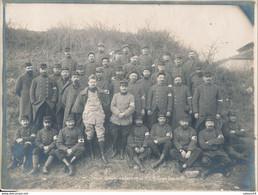 Photo (18 X 24 Cm) : Groupe Militaires Du Train Sanitaire Improvisé N°1-6e Corps Portion B (BP) - War, Military
