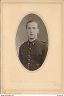 Photo : Portrait Militaire - Un Aviateur - Aviation - Insigne Au Col - Par Frédière à Orléans - Bourges (BP) - War, Military