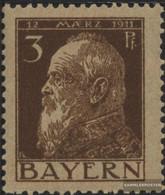 Bavaria 76II Unmounted Mint / Never Hinged 1911 Prince Regent Luitpold - Bavaria