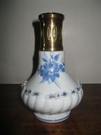 ANCIENNE LAMPE BERGER MODELE CM CAPODIMONTE BLEUE CIRCA 1969 - 1972 - Capodimonte (ITA)