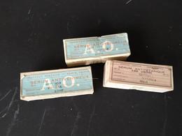 3 Boites Anciennes De Sérum De L'institut Pasteur Datant De 1950 ( Boite En Carton ) - Scatole