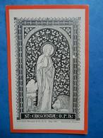 IMAGE PIEUSE HOLY CARD SAINTE CRESCENCE MARTYRE LION MAZZARA HYLAS    BENZIGER EISIEDELN - Santini