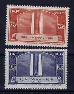 France: Yv 316 - 317 MNH/** Sans Charniere. Postfrisch 1936 - Non Classés