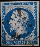 NAPOLEON III  .n°14 A Ob   NP  AMBULANT - 1853-1860 Napoléon III.